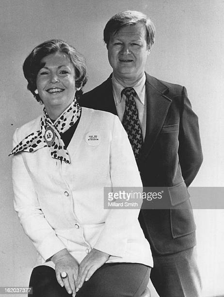 SEP 4 1974 SEP 7 1974 SEP 8 1974 Louis and Dede Harvey They returned to Denver to make pitch for Synanon