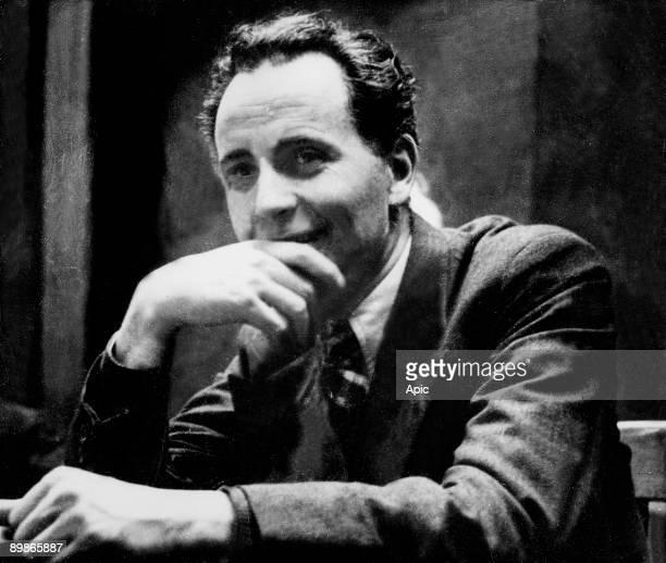 Louis Aragon , french communist poet here c. 1940
