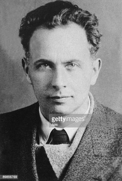 Louis Aragon french communist writer and journalist here in 1935