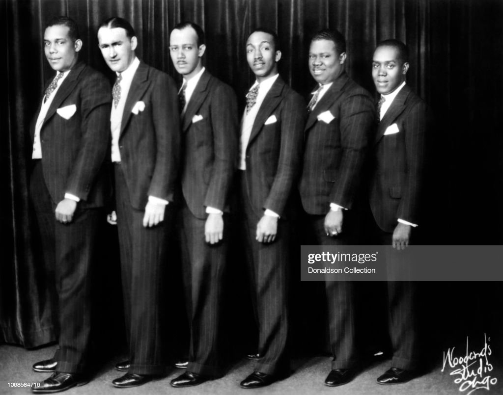 Louis Armstrong And His Savoy Ballroom Five : News Photo