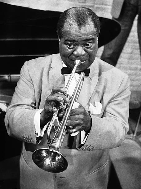 Louis Armstrong In Hamburg