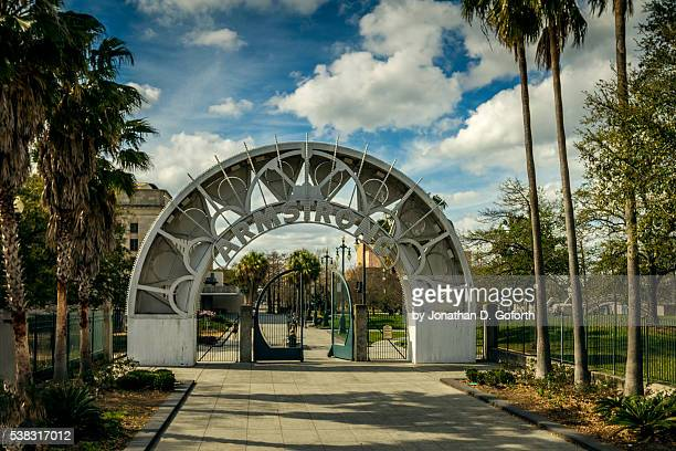 louis armstrong park - new orleans city park stock pictures, royalty-free photos & images