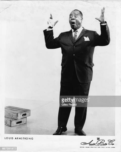 Louis Armstrong studio portrait United States 1966