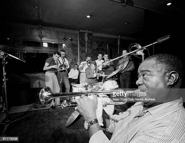 Louis Armstrong who reshaped jazz in the 1920s and was still picking up new fans into the 1960s with his renditions of pop songs such as Hello Dolly...