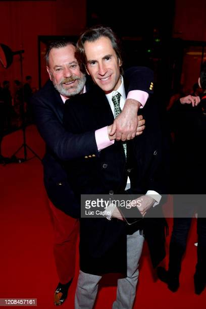 Louis Benech and Pierre Pelegry attends the Exhibition Opening of L'Exibition[niste] by Christian Louboutin as part of Paris Fashion Week Womenswear...