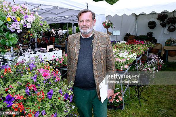 Louis Benech attends the Days of Plants 2015 : From Courson To Chantilly ! Held at Chateau de Chantilly on May 15, 2015 in Chantilly, France.