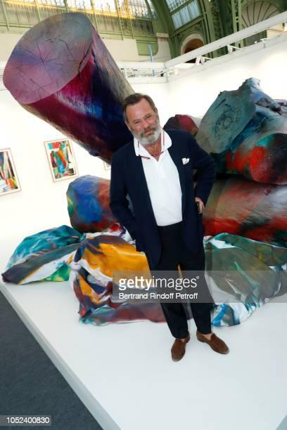 Louis Benech attends the FIAC 2018 International Contemporary Art Fair Press Preview at Grand Palais on October 17 2018 in Paris France