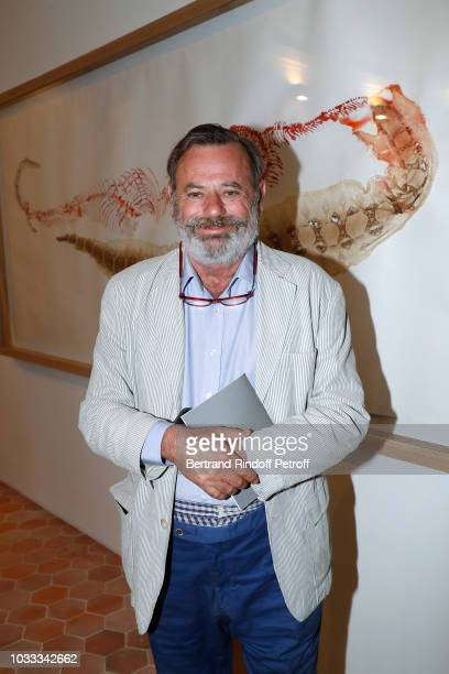 Louis Benech attends the Kering Heritage Days Opening Night at 40 Rue de Sevres on September 14 2018 in Paris France