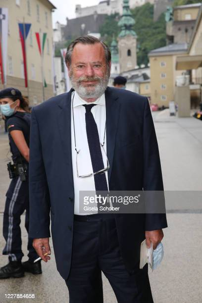 "Louis Benech attends the premiere of ""Cosi fan tutte"" during the Salzburg Festival 2020 at Salzburg State Theatre on August 2, 2020 in Salzburg,..."