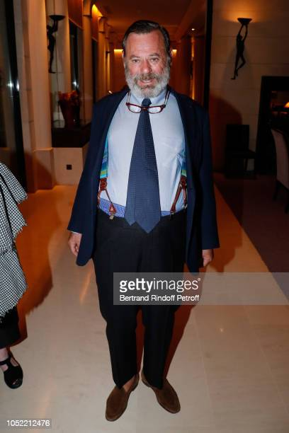 Louis Benech attends the Vive La Mode Exhibition Preview Unpublished exhibition of photographic works from Nicola Erni's collection selected by Tim...