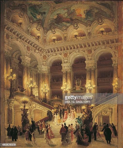 Louis Beroud The staircase at Paris Opera 1877 Paris Hôtel Carnavalet