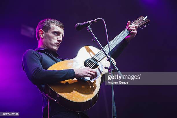 Louis Berry performs on the Main Stage at Kendal Calling Festival on July 31 2015 in Kendal United Kingdom