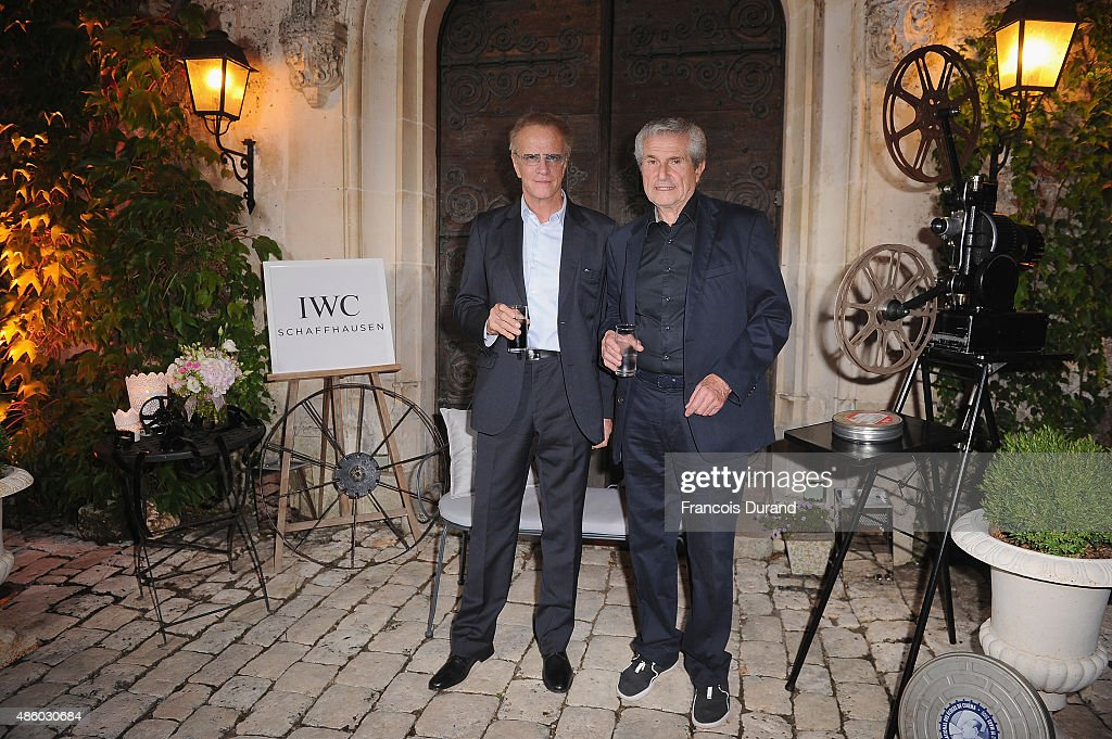 Louis Bertignac attends the closing dinner hosted by IWCduring the Festival du Film Francophone d'Angouleme on August 30, in Angouleme, France.