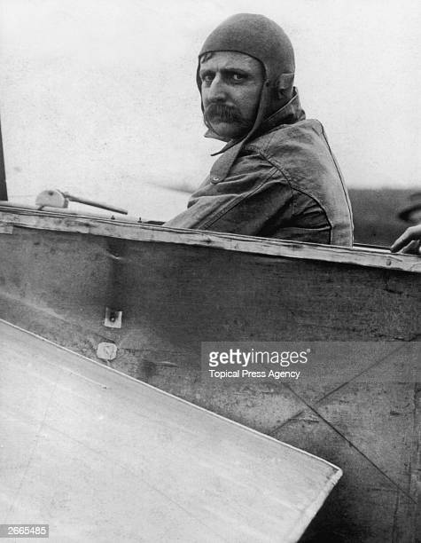 Louis Bleriot French airman who made the first flight across the English Channel in 1909