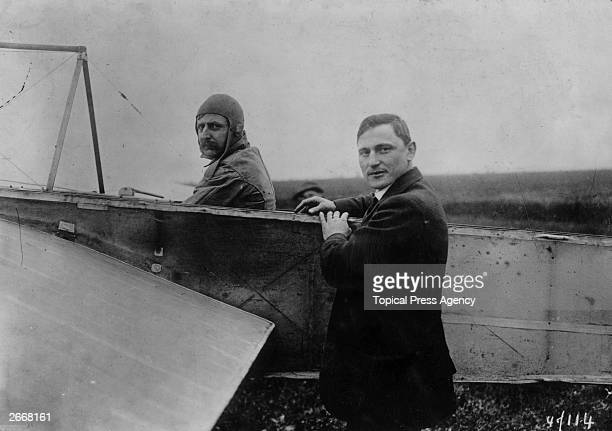 Louis Bleriot French airman who made the first flight across the Channel in 1909