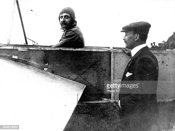 Louis Blériot French pilote he was the first to fly over the English Channel from Calais to Dover on July 25 1909