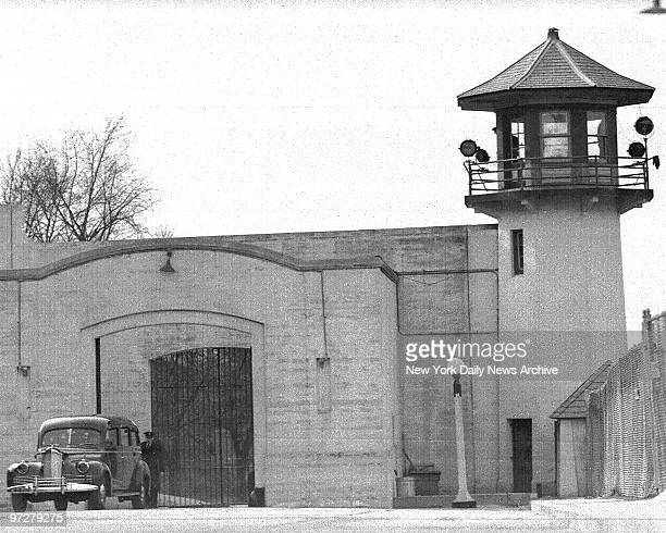 Louis Buchalter who went to his death in the Sing Sing electric chair Saturday night body leaves the prison After a brief service at the Park West...