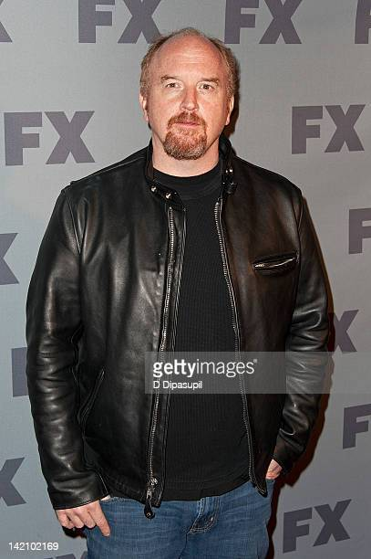 Louis C K attends the 2012 FX Ad Sales Upfront at Lucky Strike on March 29 2012 in New York City