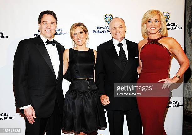 Louis Camerota Fox News anchor Alisyn Camerota New York Police Commissioner Raymond W Kelly and Fox News anchor Jamie Colby attend the 2013 New York...