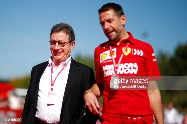 Louis Camilleri of Scudera Ferrari prior to the F1 Grand Prix of Spain at Circuit de Barcelona-Catalunya on May 12, 2019 in Barcelona, Spain.