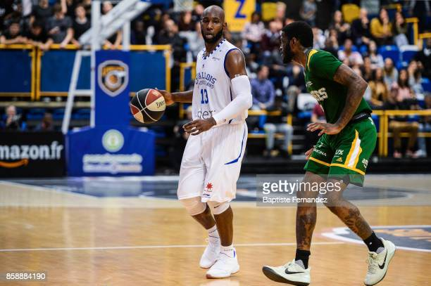 Louis Campbell of Levallois during the Pro A match between Levallois and Limoges on October 7 2017 in LevalloisPerret France