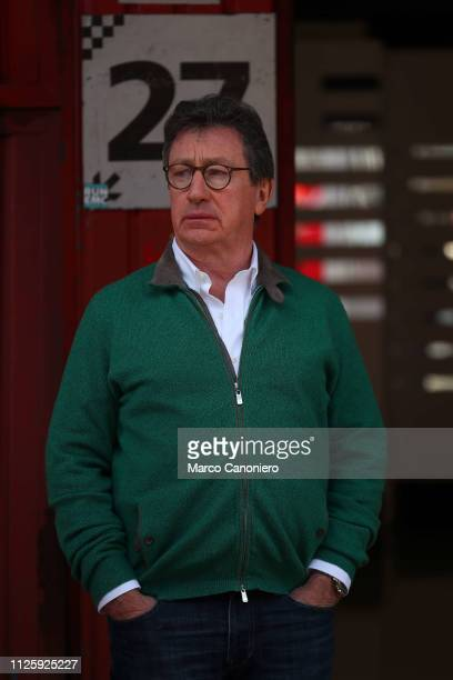 Louis Carey Camilleri Ceo of Ferrari during day two of F1 Winter Testing.
