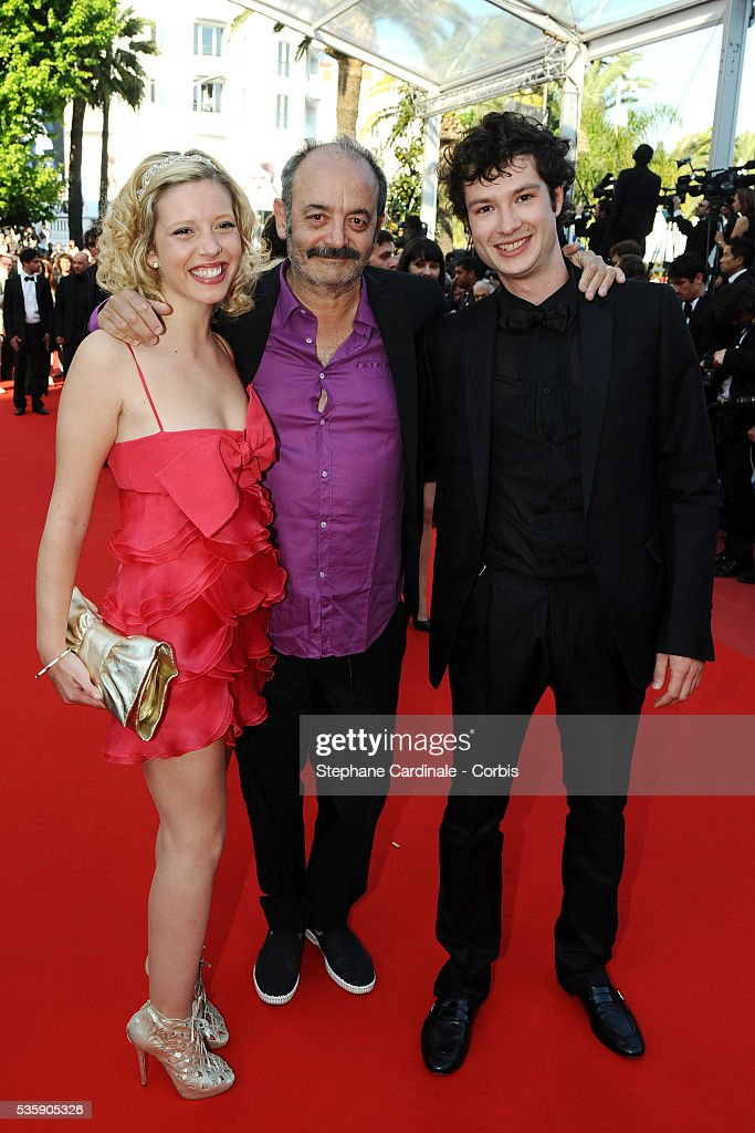Louis Chedid at the Premiere for 'Biutiful' during the 63rd Cannes International Film Festival.