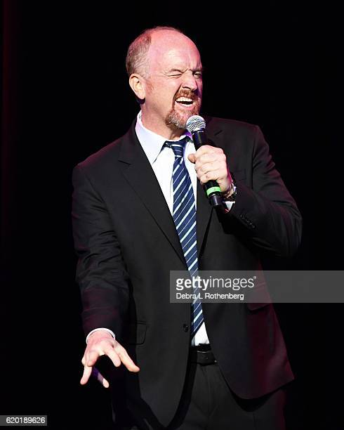 Louis CK attends the 10th Annual Stand Up For Heroes Show at The Theater at Madison Square Garden on November 1 2016 in New York City