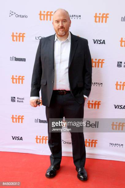 Louis CK attends the 'I Love You Daddy' premiere during the 2017 Toronto International Film Festival at Ryerson Theatre on September 9 2017 in...