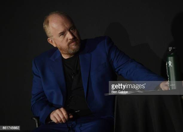 Louis CK attends Tribeca TV Festival's sneak peek of Better Things at Cinepolis Chelsea on September 22 2017 in New York City