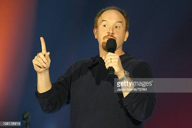 Louis CK during HBO AEG Live's 'The Comedy Festival' Dave Attell Louis CK and Daniel Tosh at Caesars Palace in Las Vegas Nevada United States