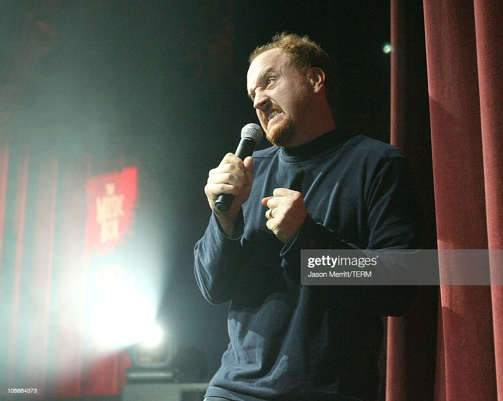 Louis CK during Rock N Roe with Tenacious D and Friends Benefitting Women's Reproductive Rights Assistance Project at Tha Music Box Theatre in Hollywood, California, United States.