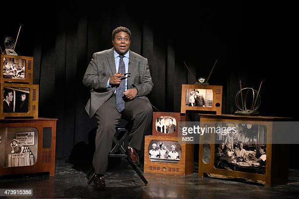 """Louis C.K."""" Episode 1683 -- Pictured: Kenan Thompson as Reese De'What during the """"Forgotten TV Gems"""" skit on May 16, 2015 --"""