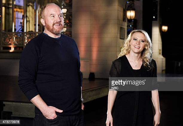 """Louis C.K."""" Episode 1683 -- Pictured: Louis C.K. And Kate McKinnon on May 12, 2015 --"""
