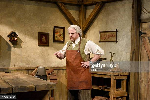"""Louis C.K."""" Episode 1683 -- Pictured: Louis C.K. During the """"Shoemaker and The Elves"""" skit on May 16, 2015 --"""