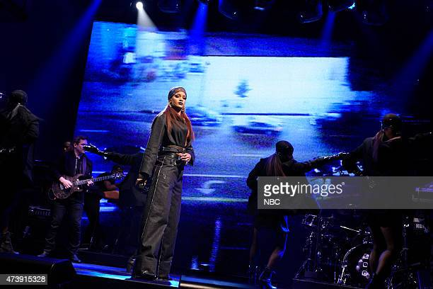 """Louis C.K."""" Episode 1683 -- Pictured: Musical guest Rihanna performs on May 16, 2015 --"""