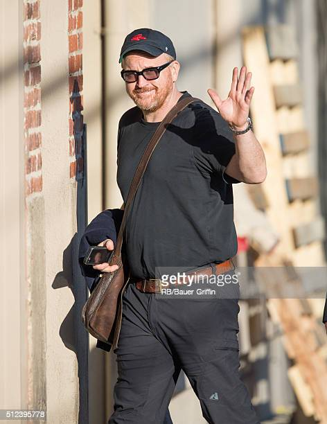 Louis CK is seen at 'Jimmy Kimmel Live' on February 25 2016 in Los Angeles California