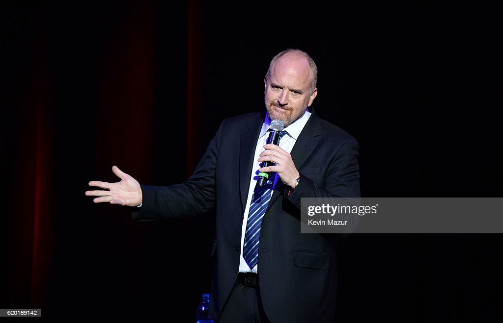 Louis C.K. performs on stage as The New York Comedy Festival and The Bob Woodruff Foundation present the 10th Annual Stand Up for Heroes event at The Theater at Madison Square Garden on November 1, 2016 in New York City.