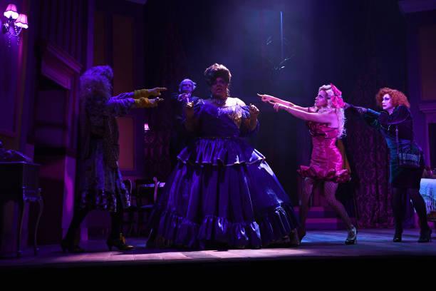 "GBR: ""Death Drop"" Dress Rehearsals At Garrick Theatre  - Press Call"