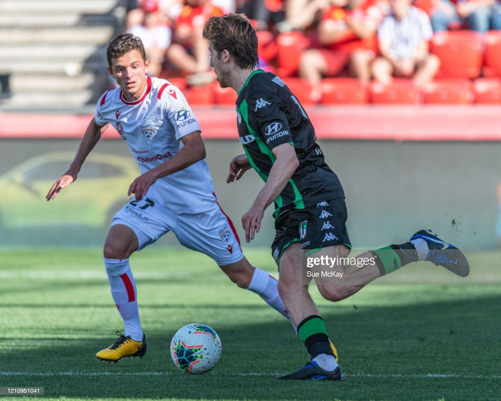 A-League Rd 22 - Adelaide v Western United : News Photo