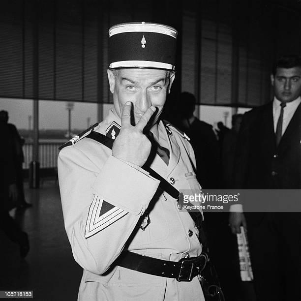 Louis De Funes As The Gendarme De SaintTropez 1965