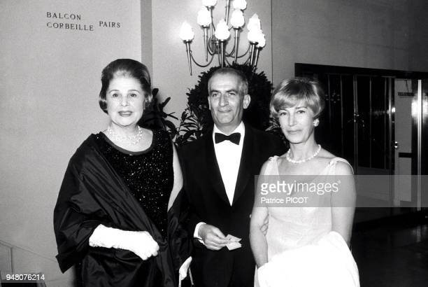 Louis de Funes his wife Elvire Popesco