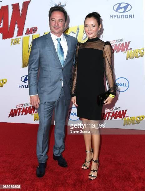 Louis D'esposito arrives at the Premiere Of Disney And Marvel's AntMan And The Wasp on June 25 2018 in Hollywood California
