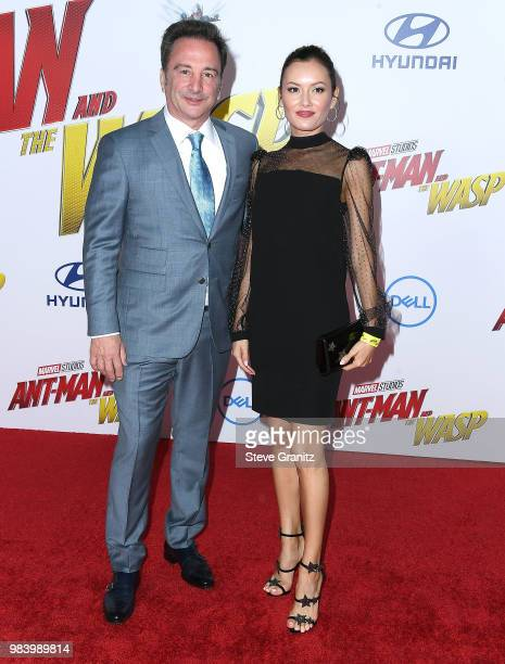 Louis D'esposito arrives at the Premiere Of Disney And Marvel's 'AntMan And The Wasp' on June 25 2018 in Hollywood California
