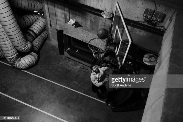 Louis Domingue of the Tampa Bay Lightning gets ready for the game against the Washington Capitals during Game Seven of the Eastern Conference Final...