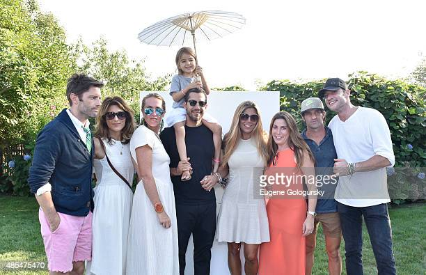 Louis Dowler Jennifer Esposito Marina Bejarano Dessa Blaine David Blaine Jessica Meisels Matt Halliday and Sam Talbot attend the Petit Maison Chic...