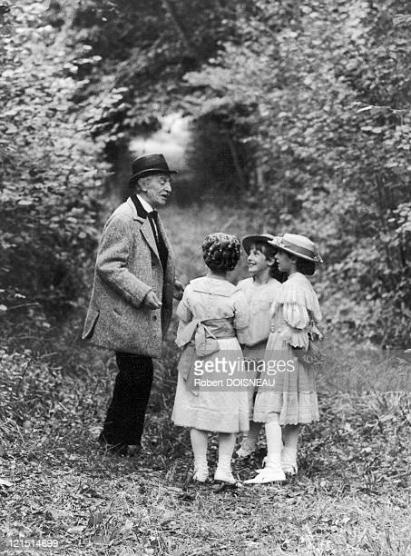 """Louis Ducreux, French Actor, On The Shooting Of The Film """"A Sunday In The Country"""""""