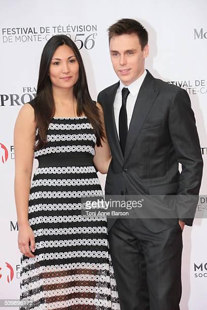 Louis Ducruet and girlfriend arrives at the 56th Monte Carlo TV Festival Opening Ceremony at the Grimaldi Forum on June 12 2016 in MonteCarlo Monaco