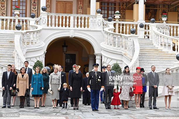 Louis DucruetPrincess Stephanie of Monaco Princess Alexandra of HanoverPrincess Caroline of HanoverSacha CasiraghiPrincess Charlene of MonacoPrince...