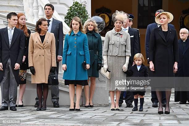 Louis DucruetPrincess Stephanie of Monaco Princess Alexandra of HanoverPrincess Caroline of HanoverSacha CasiraghiPrincess Charlene of Monaco attend...